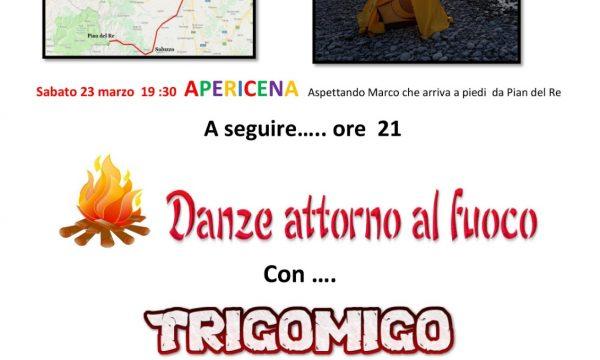 23/3/2019, Saluggia (Vc), Bal Folk con Trigomigo